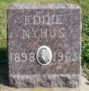 NYHUS, EDDIE - Minnehaha County, South Dakota | EDDIE NYHUS - South Dakota Gravestone Photos