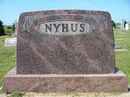 NYHUS, FAMILY MARKER - Minnehaha County, South Dakota | FAMILY MARKER NYHUS - South Dakota Gravestone Photos