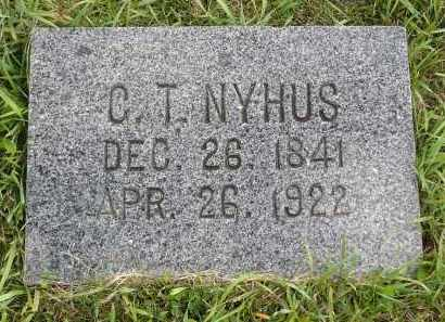 NYHUS, GUTTORM TORGEIRSEN - Minnehaha County, South Dakota | GUTTORM TORGEIRSEN NYHUS - South Dakota Gravestone Photos