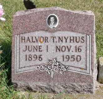 NYHUS, HALVOR T. - Minnehaha County, South Dakota | HALVOR T. NYHUS - South Dakota Gravestone Photos