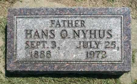 NYHUS, HANS O. - Minnehaha County, South Dakota | HANS O. NYHUS - South Dakota Gravestone Photos