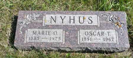 NYHUS, MARIE O. - Minnehaha County, South Dakota   MARIE O. NYHUS - South Dakota Gravestone Photos