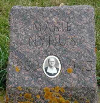 NYHUS, MARIE - Minnehaha County, South Dakota | MARIE NYHUS - South Dakota Gravestone Photos