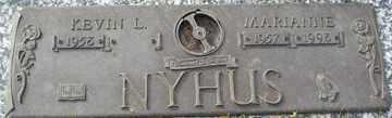 NYHUS, MARIANNE - Minnehaha County, South Dakota | MARIANNE NYHUS - South Dakota Gravestone Photos