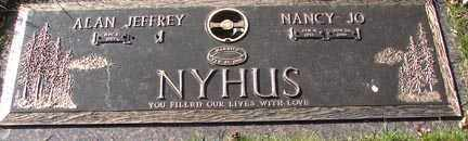 NYHUS, NANCY JP - Minnehaha County, South Dakota | NANCY JP NYHUS - South Dakota Gravestone Photos