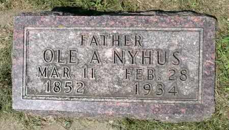 NYHUS, OLE A. - Minnehaha County, South Dakota | OLE A. NYHUS - South Dakota Gravestone Photos