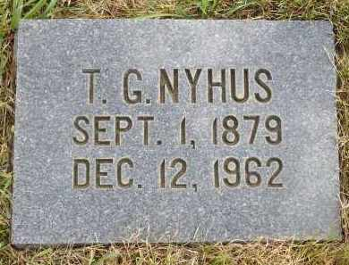 NYHUS, TORGER GUTTORMSEN - Minnehaha County, South Dakota | TORGER GUTTORMSEN NYHUS - South Dakota Gravestone Photos