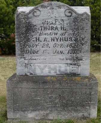 NYHUS, THORA H. - Minnehaha County, South Dakota   THORA H. NYHUS - South Dakota Gravestone Photos