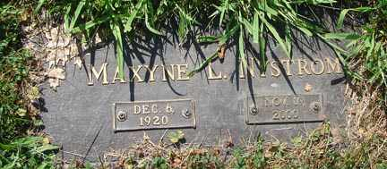 NYSTROM, MAXYNE L. - Minnehaha County, South Dakota | MAXYNE L. NYSTROM - South Dakota Gravestone Photos