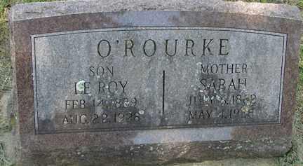 O' ROURKE, SARAH - Minnehaha County, South Dakota | SARAH O' ROURKE - South Dakota Gravestone Photos