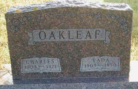 OAKLEAF, CHARLES - Minnehaha County, South Dakota | CHARLES OAKLEAF - South Dakota Gravestone Photos