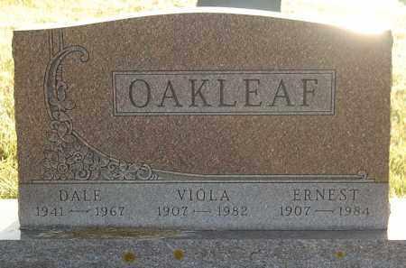 OAKLEAF, DALE - Minnehaha County, South Dakota | DALE OAKLEAF - South Dakota Gravestone Photos