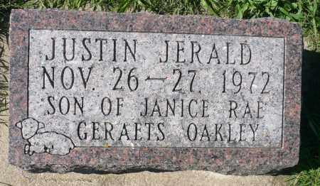 OAKLEY, JUSTIN JERALD - Minnehaha County, South Dakota   JUSTIN JERALD OAKLEY - South Dakota Gravestone Photos