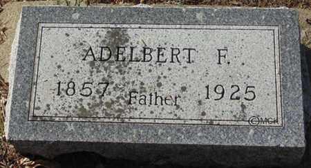 OAKS, ADELBERT F. - Minnehaha County, South Dakota   ADELBERT F. OAKS - South Dakota Gravestone Photos