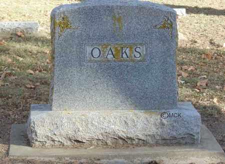 OAKS, HEADSTONE - Minnehaha County, South Dakota | HEADSTONE OAKS - South Dakota Gravestone Photos