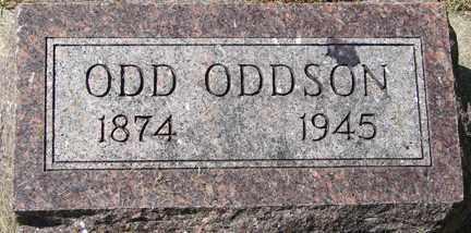 ODDSON, ODD - Minnehaha County, South Dakota   ODD ODDSON - South Dakota Gravestone Photos