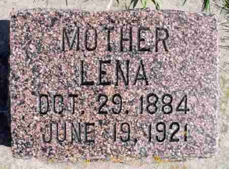 ODENBRETT, LENA - Minnehaha County, South Dakota | LENA ODENBRETT - South Dakota Gravestone Photos
