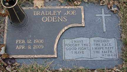 ODENS, BRADLEY JOE - Minnehaha County, South Dakota   BRADLEY JOE ODENS - South Dakota Gravestone Photos