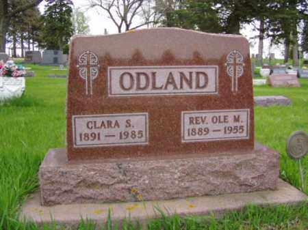 STENSLAND ODLAND, CLARA - Minnehaha County, South Dakota | CLARA STENSLAND ODLAND - South Dakota Gravestone Photos