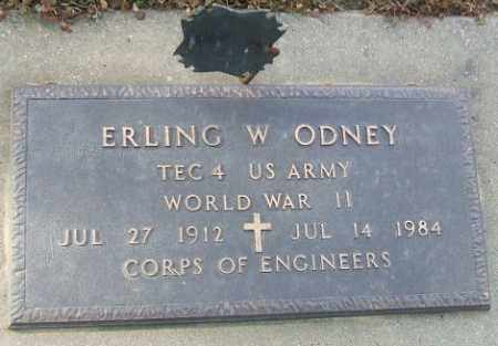 ODNEY, ERLING W. (WWII) - Minnehaha County, South Dakota   ERLING W. (WWII) ODNEY - South Dakota Gravestone Photos