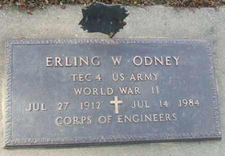 ODNEY, ERLING W. (WWII) - Minnehaha County, South Dakota | ERLING W. (WWII) ODNEY - South Dakota Gravestone Photos