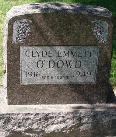 O'DOWD, CLYDE EMMETT - Minnehaha County, South Dakota | CLYDE EMMETT O'DOWD - South Dakota Gravestone Photos