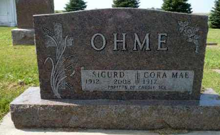 OHME, SIGURD - Minnehaha County, South Dakota | SIGURD OHME - South Dakota Gravestone Photos
