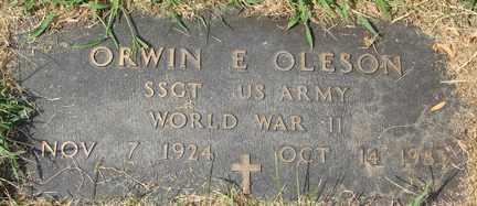 OLESON, ORWIN E. (WWII) - Minnehaha County, South Dakota | ORWIN E. (WWII) OLESON - South Dakota Gravestone Photos