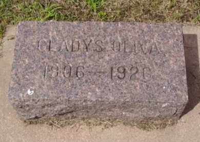 OLIVA, GLADYS - Minnehaha County, South Dakota   GLADYS OLIVA - South Dakota Gravestone Photos