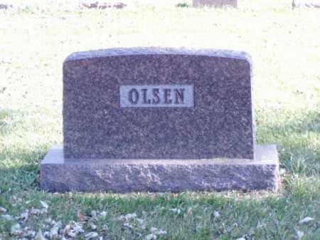 OLSEN, FAMILY MARKER - Minnehaha County, South Dakota | FAMILY MARKER OLSEN - South Dakota Gravestone Photos