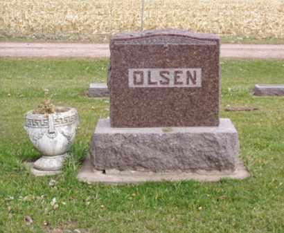 OLSEN, HANNAH - Minnehaha County, South Dakota | HANNAH OLSEN - South Dakota Gravestone Photos