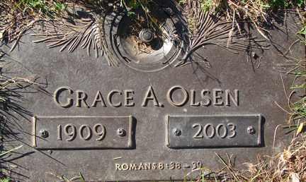 OLSEN, GRACE A. - Minnehaha County, South Dakota | GRACE A. OLSEN - South Dakota Gravestone Photos