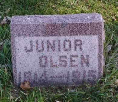 OLSEN, JUNIOR - Minnehaha County, South Dakota | JUNIOR OLSEN - South Dakota Gravestone Photos