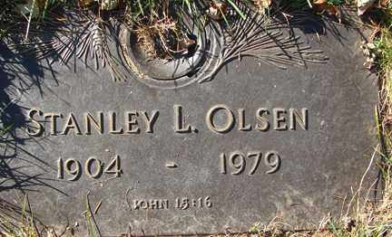 OLSEN, STANLEY L. - Minnehaha County, South Dakota | STANLEY L. OLSEN - South Dakota Gravestone Photos