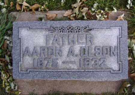 OLSON, AARON A. - Minnehaha County, South Dakota | AARON A. OLSON - South Dakota Gravestone Photos