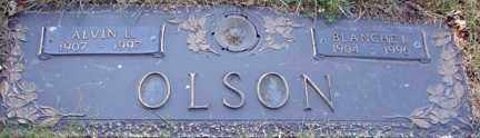 OLSON, ALVIN L. - Minnehaha County, South Dakota | ALVIN L. OLSON - South Dakota Gravestone Photos