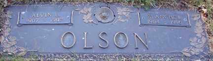 OLSON, BLANCHE I. - Minnehaha County, South Dakota | BLANCHE I. OLSON - South Dakota Gravestone Photos