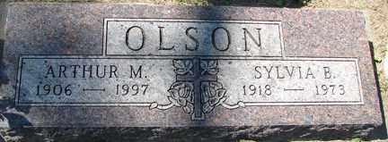 OLSON, SYLVIA B. - Minnehaha County, South Dakota | SYLVIA B. OLSON - South Dakota Gravestone Photos