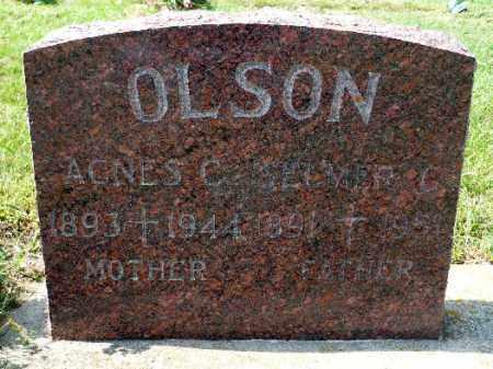 OLSON, SELMER G. - Minnehaha County, South Dakota | SELMER G. OLSON - South Dakota Gravestone Photos