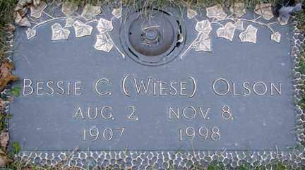 OLSON, BESSIE C. - Minnehaha County, South Dakota   BESSIE C. OLSON - South Dakota Gravestone Photos