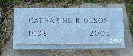 OLSON, CATHARINE B. - Minnehaha County, South Dakota | CATHARINE B. OLSON - South Dakota Gravestone Photos