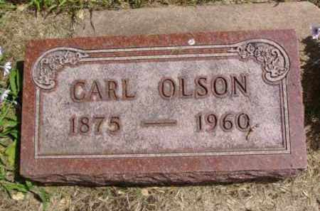 OLSON, CARL - Minnehaha County, South Dakota | CARL OLSON - South Dakota Gravestone Photos