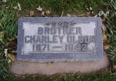OLSON, CHARLEY - Minnehaha County, South Dakota | CHARLEY OLSON - South Dakota Gravestone Photos