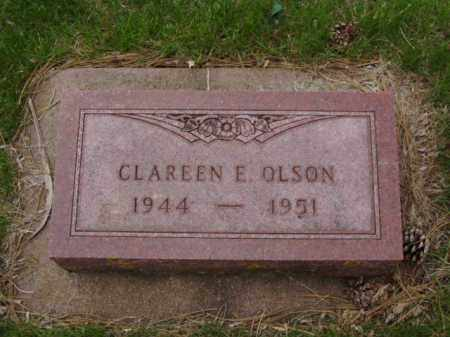 OLSON, CLAREEN E. - Minnehaha County, South Dakota | CLAREEN E. OLSON - South Dakota Gravestone Photos