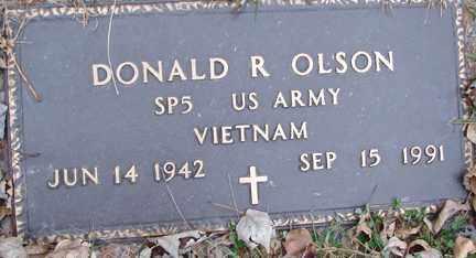 OLSON, DONALD R. (VIETNAM) - Minnehaha County, South Dakota | DONALD R. (VIETNAM) OLSON - South Dakota Gravestone Photos