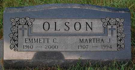 OLSON, MARTHA J. - Minnehaha County, South Dakota   MARTHA J. OLSON - South Dakota Gravestone Photos
