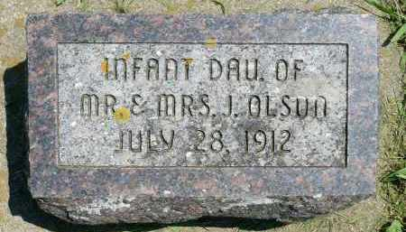 OLSON, INFANT DAUGHTER - Minnehaha County, South Dakota | INFANT DAUGHTER OLSON - South Dakota Gravestone Photos