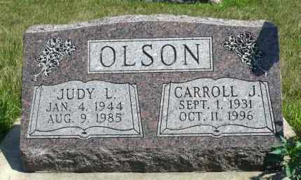 OLSON, JUDY L. - Minnehaha County, South Dakota | JUDY L. OLSON - South Dakota Gravestone Photos