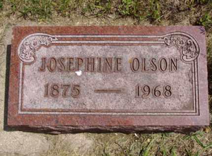 OLSON, JOSEPHINE - Minnehaha County, South Dakota | JOSEPHINE OLSON - South Dakota Gravestone Photos