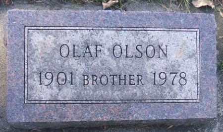 OLSON, OLAF - Minnehaha County, South Dakota   OLAF OLSON - South Dakota Gravestone Photos